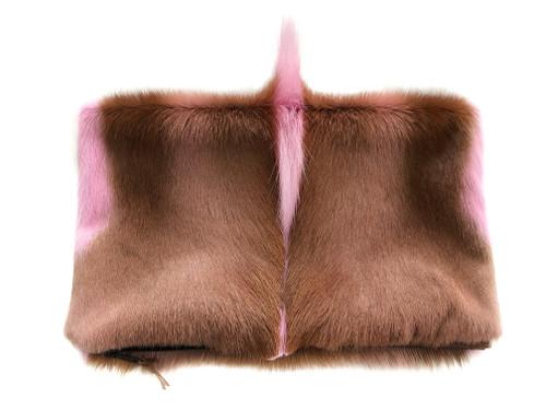 NEW! Springbok Foldover Clutch - Pink - 1 LEFT!