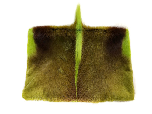 NEW! Springbok Foldover Clutch - Lime