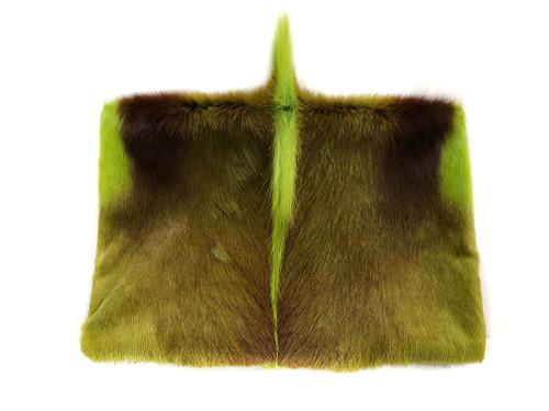 NEW! Springbok Foldover Clutch - Lime