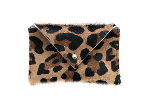 NEW! Envelope Card Holder - Leopard