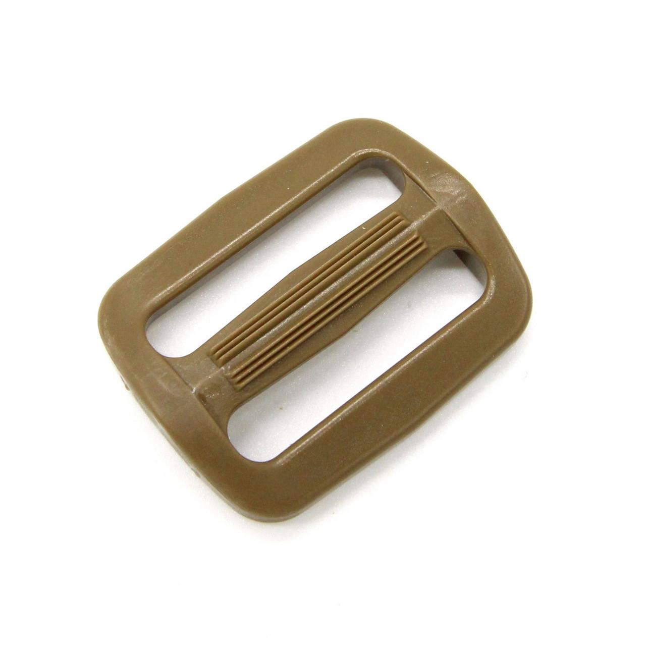 Plastic Triglide 4 x ITW Nexus Tan GhillieTex IRR 20mm 0.75 inch Tri Glides