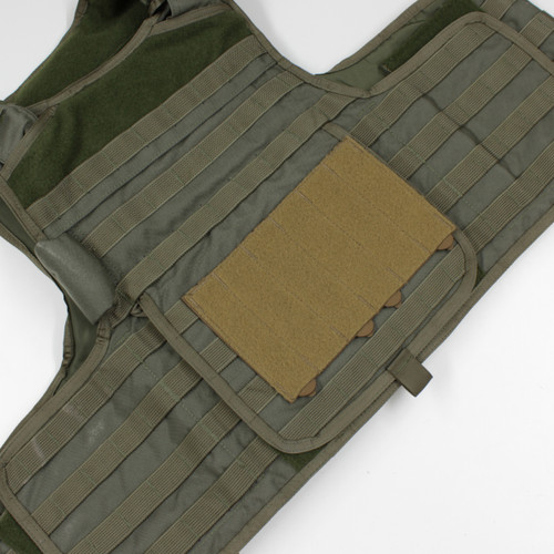 Placard Adapter PALS MOLLE vest Velcro loop field