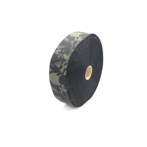 "Multicam Black Loop 4"" wide per yard"