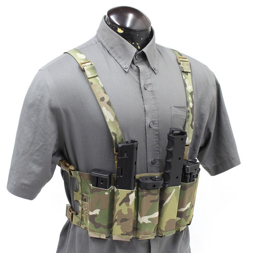 Turnkey Rig 02 First Strike T8.1, T9.1, Tippmann TiPX, SIG MPX, MILSIG SMG, TCR, MILSIG PMC Mag Chestrig