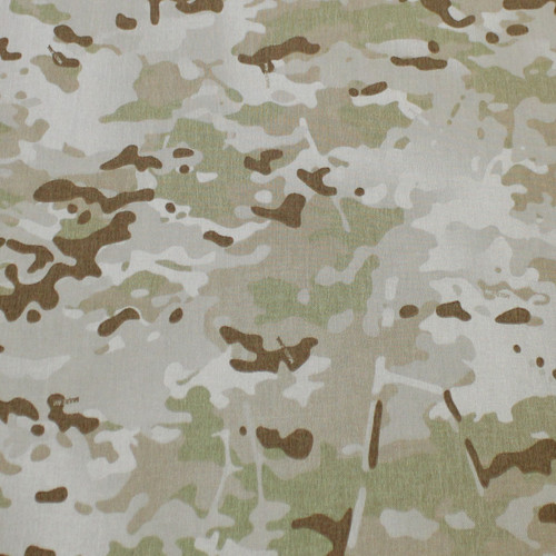 "Multicam Arid 500D Cordura 60"" wide Milspec Berry Compliant US Made BY THE YARD"