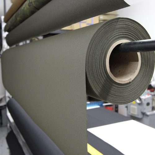 "Ranger green ACRONYM 500D laminate 58"" / 137cm wide PER YARD"