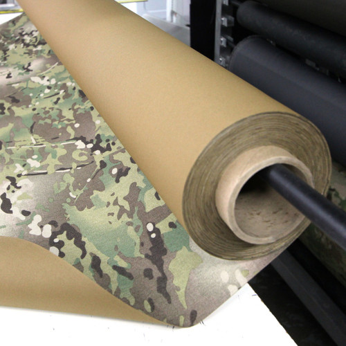 "Multicam / Coyote Brown ACRONYM 500D laminate 54""-58"" / 137cm-147cm wide PER YARD"
