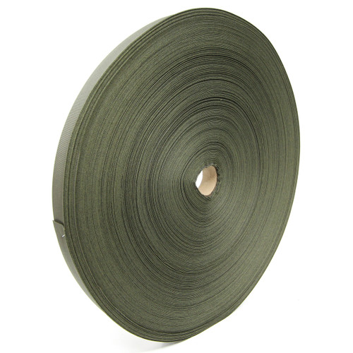 "MIL-T-5038 Type III Grosgrain Edge Binding Tape 1"" / 25mm Berry Compliant Solution Dyed Milspec Ranger Green"