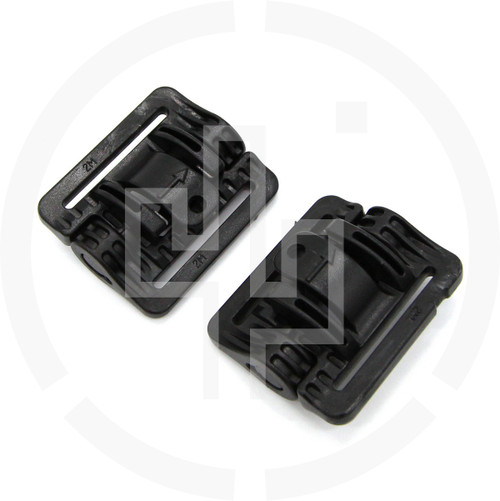 2M ROC Rapid Open Connector Narrow Black, pair of