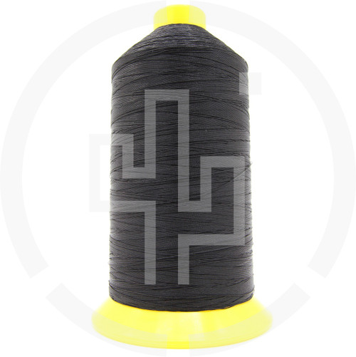 Tex 135 Size 138 Gov FF A&E milspec thread A-A-59826A bonded nylon thread black