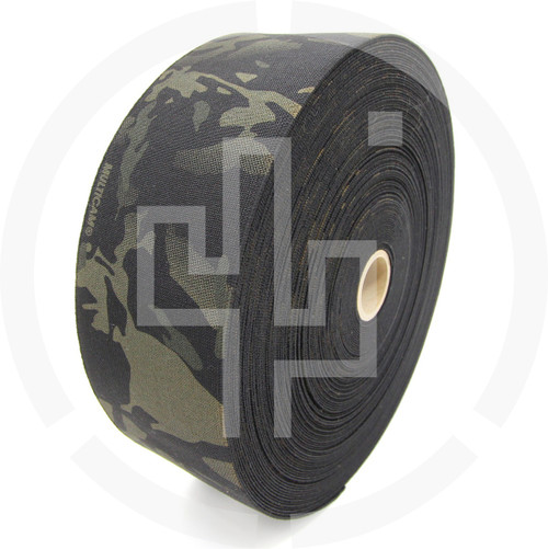 Milspec Elastic Multicam Black 4 Inch Solution Dyed Berry Compliant MIL-W-5664 Type II Class I