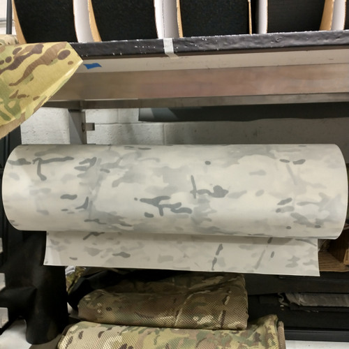 "Multicam Alpine ACRONYM 500D laminate 24.5"" / 62cm wide PER YARD"