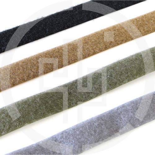 """LOOP 1"""" wide milspec, black, coyote brown, ranger green, wolf grey, Velcro brand, Berry compliant"""