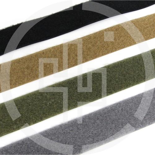"""LOOP 1.5"""" wide milspec, black, coyote brown, ranger green, wolf grey, Velcro brand, Berry compliant"""