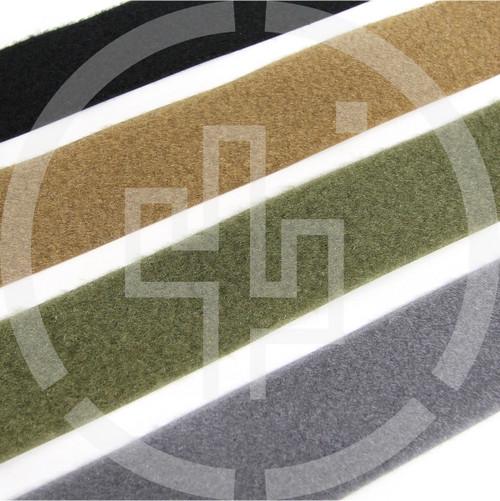 """LOOP 2"""" wide milspec, black, coyote brown, ranger green, wolf grey, Velcro brand, Berry compliant"""