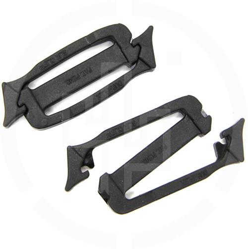 Siamese Slik Clip® 6712 Duraflex National Molding, black