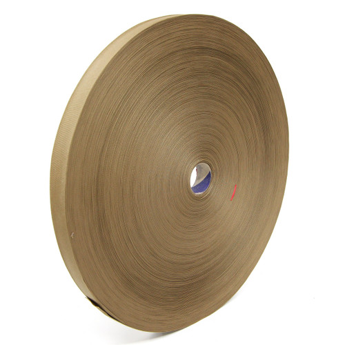 "MIL-T-5038 Type III Grosgrain Edge Binding Tape 3/4"" / 19mm Berry Compliant Solution Dyed Milspec Coyote Brown"