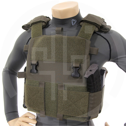 Turnkey Plate Carrier 06 Bundle w/ Shoulder Pad 21 and Cummerbund 57