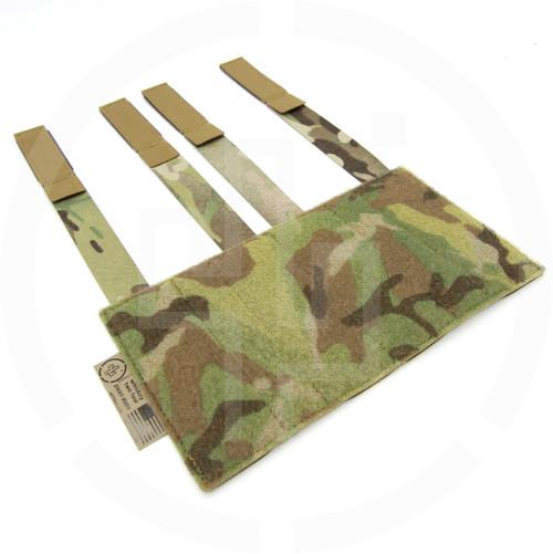 Enhanced Placard Adapter PALS MOLLE vest Velcro loop field