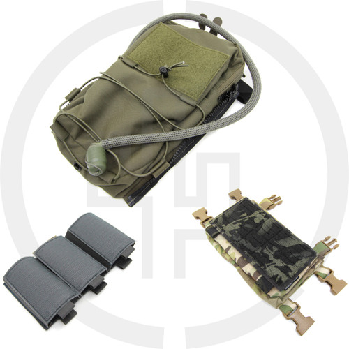 Bundle 119 Hydro Spiritus Systems LV-119 Hydro Back Panel 91, MFCR PALS Panel, and Insert 401 Bundle