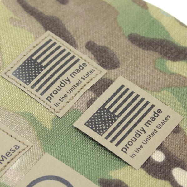 """1.5"""" x 1.5"""" 38mm x 38mm Custom Printed Tag Milspec Berry Compliant"""