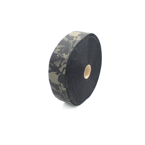 """Multicam Black Printed Loop 4"""" wide per yard"""
