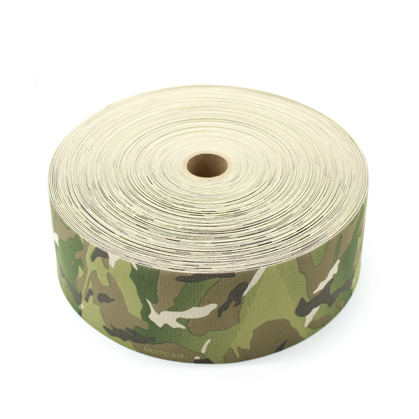 Milspec Elastic Multicam 4 Inch Solution Dyed Berry Compliant MIL-W-5664 Type II Class I
