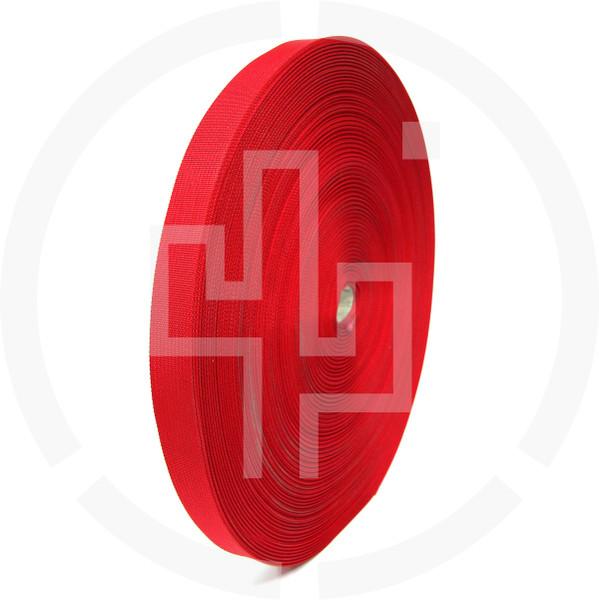 Flat Nylon 1 inch (25mm) Webbing, Red