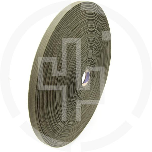 .5 inch (13mm) MIL-W-17337 type Ranger Green Solution Dyed Berry Compliant INVISTA CORDURA® Nylon Webbing