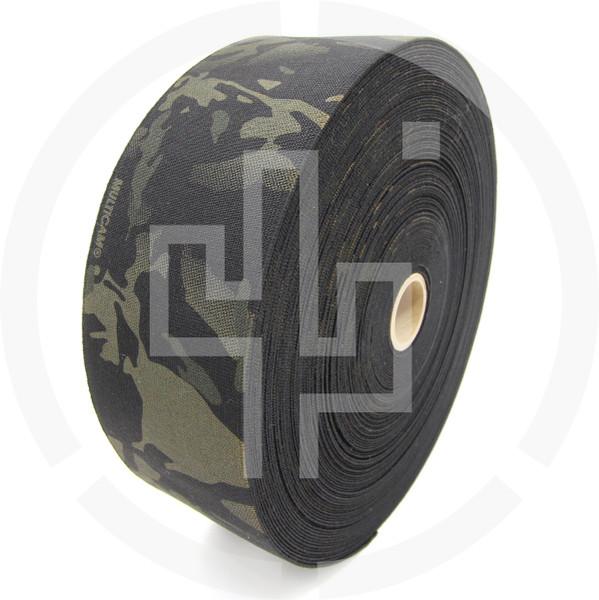 Milspec Elastic Multicam Black 4 Inch Solution Dyed Berry Compliant MIL-W-5664 Type II Class I
