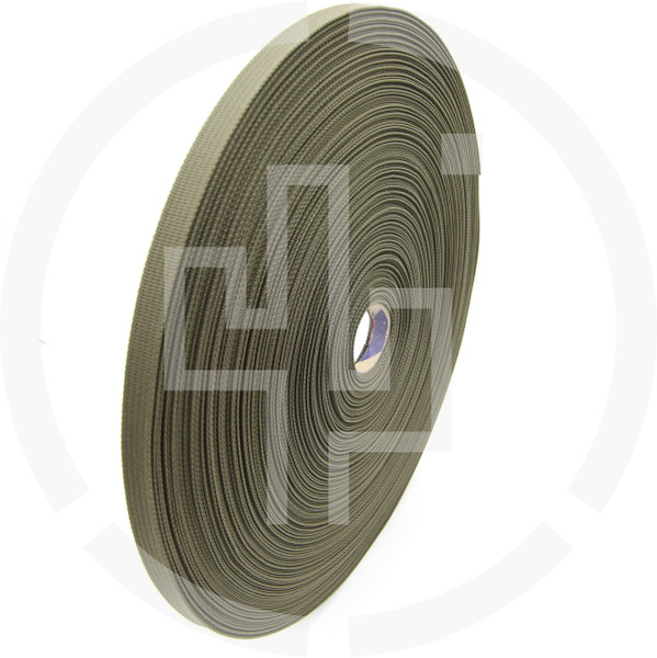 .75 inch (19mm) MIL-W-17337 type Ranger Green Solution Dyed Berry Compliant INVISTA CORDURA® Nylon Webbing