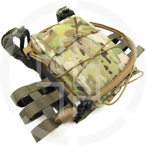 WTF MOLLE Zip-On Panel JPC 2.0 Crye Precision Back Panel 91