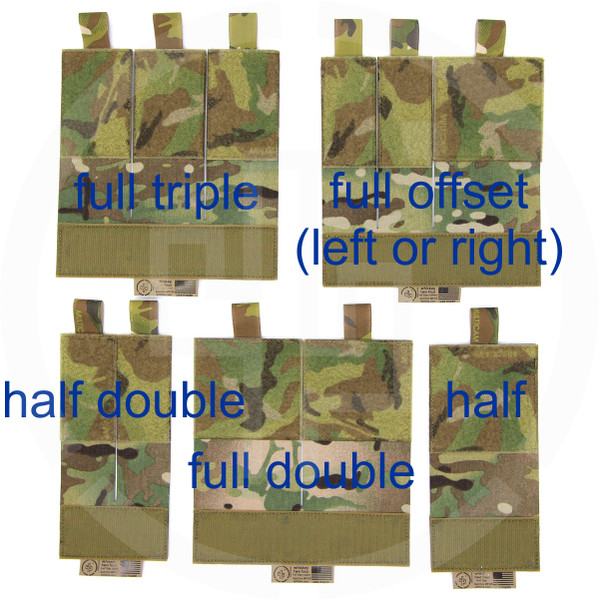 WTF Flaps for Spiritus Systems MFCR Micro Fight Chest Rig