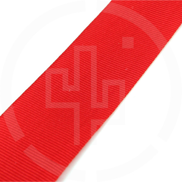"MIL-T-5038 Type III Grosgrain Edge Binding Tape 1"" / 25mm Berry Compliant Solution Dyed Milspec Red"