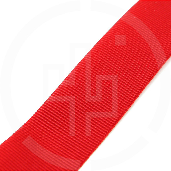 "MIL-T-5038 Type III Grosgrain Edge Binding Tape 3/4"" / 19mm Berry Compliant Milspec Red"