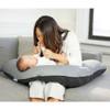 Beaba Big Flopsy Maternity And Nursing Pillow - Charcoal