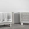Dutailier Pomelo 3-Drawer Dresser - Rustic Grey