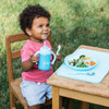 Green Sprouts Learning Plate with Suction Cup Base - Green