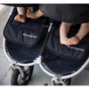 Bumbleride 2018 Indie Twin Stroller - Dawn Grey Coral