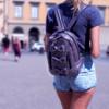 7 A.M. Voyage Mini Bows Backpack - Black