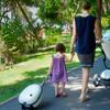 Mima Ovi Trolley Luggage - Argento