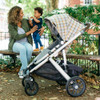 UPPAbaby Vista 2019 Stroller - Spenser (Grey & Yellow Tartan/Moss Leather)