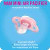 MAM Mini Air 2-Pack Pacifiers - Girl (0-6 Months)