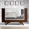 Dutailier Melon 3-in-1 Convertible Crib - Coffee/White