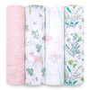 Aden + Anais Classic 4-Pack Muslin Swaddles - Forest Fantasy