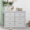 Million Dollar Baby Foothill-Louis 6-Drawer Dresser - Cloud Grey