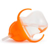 Munchkin Click Lock Weighted Flexi-Straw 7oz Cup - Orange