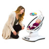 4Moms MamaRoo 4.0 Bouncer - Silver Plush Seat