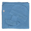 Merino Cocooi Blanket, Bootie, & Hat Set - Banbury (0-3 Months)
