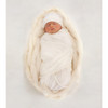 Merino Cocooi Swaddle & Hat Set - Cream (0-3 Months)